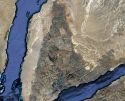 Google Earth, Israel and… Moses