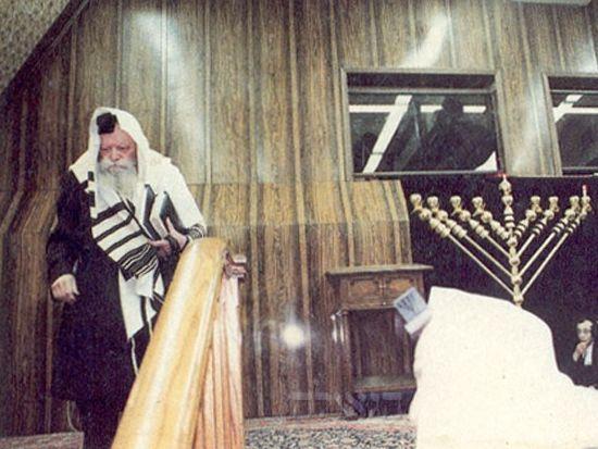 Мошиах во время праздника ханука