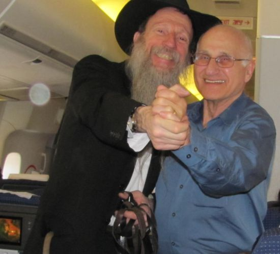 Rabbi Tuvia Bolton and the revived
