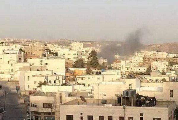 Ракета, выпущенная арабскими террористами по Израилю, попала в арабскую часть Хеврона. ХАМАС обвинил Израиль, что из-за молитв еврейских оккупантов пострадало мирное арабское население . Наши соболезнования...