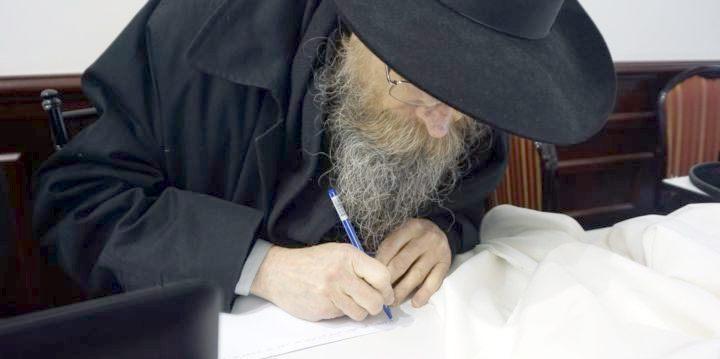 Рав Шломо-Залман Левкивкер пишет постановление