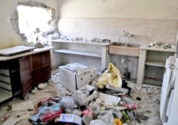 Ракета попала в жилой дом в Сдероте. Никто не пострадал... (фото:  Роман Янушевский, 9tv)